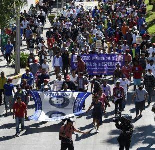 Caravana migrante acuerda salir de Ciudad de México rumbo a Estados Unidos