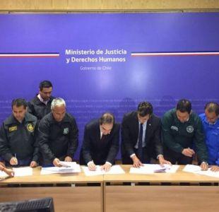 Gendarmería sella acuerdo con el gobierno tras tensa semana de paralización
