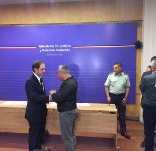Ministro de Justicia adelanta plan de modernización de Gendarmería tras acuerdo con funcionarios