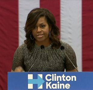 [VIDEO] La pelea entre Michelle Obama y Trump