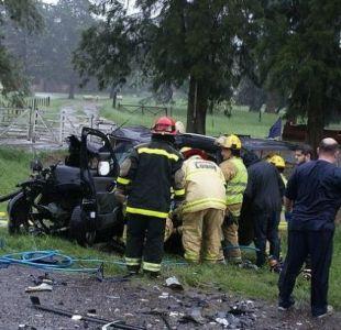 Cuatro hinchas de Boca Juniors fallecen en accidente de tránsito camino a La Bombonera