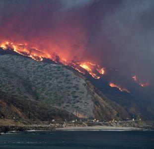 [FOTOS] Así se ven desde el espacio los incendios en California