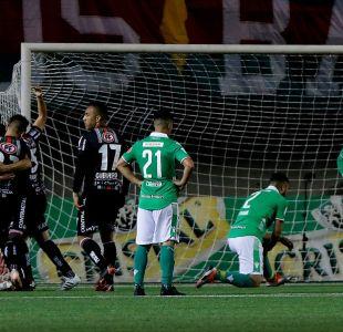 Palestino venció sobre la hora a Audax Italiano en la final de ida de la Copa Chile