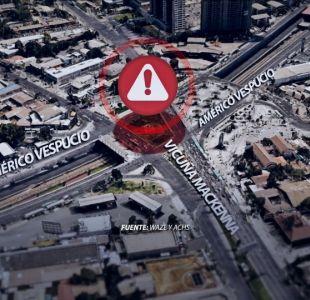 [VIDEO] El mapa de los accidentes camino al trabajo