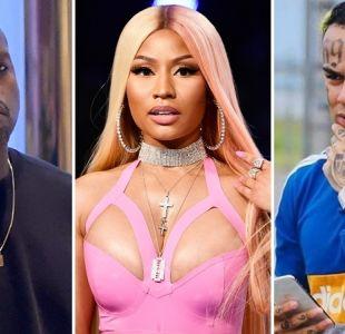Balazos interrumpieron grabación de Tekashi 6ix9ine, Kanye West y Nicki Minaj