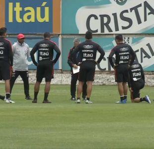 [VIDEO] Selección chilena entrena de cara al amistoso frente a Costa Rica