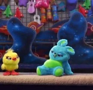 [VIDEO] Toy Story 4 presenta a los simpáticos Ducky y Bunny, sus nuevos personajes