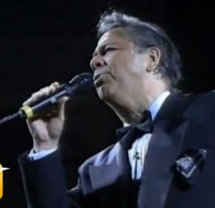 Lucho Gatica, el chileno que se codeó con Elvis Presley y Frank Sinatra