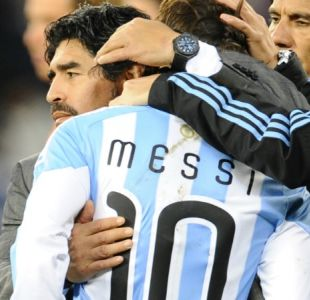 [VIDEO] Maradona revela secreto jamás contado de Argentina en el Mundial de Sudáfrica 2010