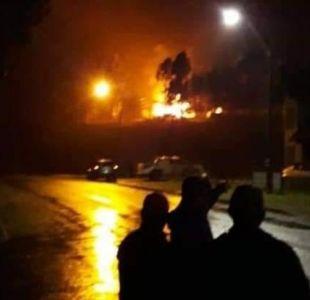Investigan presunto ataque incendiario a vivienda de Quidico en la provincia de Arauco