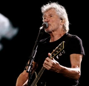 [VIDEO] Roger Waters exhibe camiseta de Palestino en concierto en el Estadio Nacional