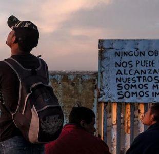 Gobierno mexicano pide a migrantes que eviten violencia en frontera con Estados Unidos