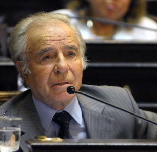 [VIDEO] Carlos Menem sobre Máximo: Están todas las condiciones para que cuando salga sea feliz