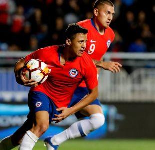 Alexis Sánchez llega a 40 goles como el máximo anotador de La Roja
