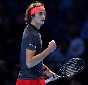 [VIDEO] La polémica jugada que motivó pifias en el partido entre Zverev y Federer