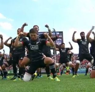 [VIDEO] Revisa el esperado haka de los Maorí All Blacks para enfrentar a Chile