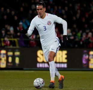 Enzo Roco es liberado de La Roja por lesión y no enfrentará a Honduras