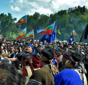 Así fue el masivo funeral del comunero mapuche Camilo Catrillanca