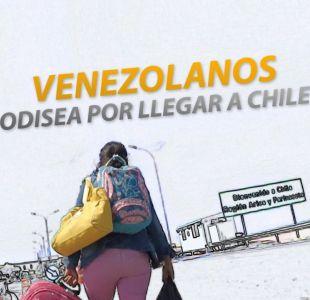 [VIDEO] #ReportajesT13   Venezolanos: La odisea por llegar a Chile