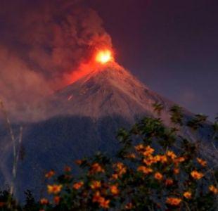 Volcán de Fuego en Guatemala: las impactantes imágenes de la nueva erupción