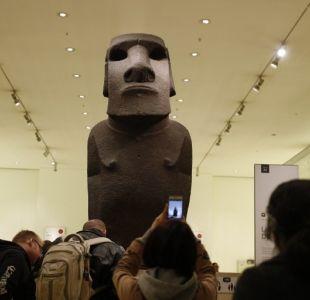 [VIDEO] Tienen nuestra alma: El ruego de los rapanuis al museo de Londres para recuperar su moái
