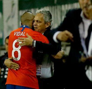 La respuesta de Reinaldo Rueda ante gesto de Arturo Vidal