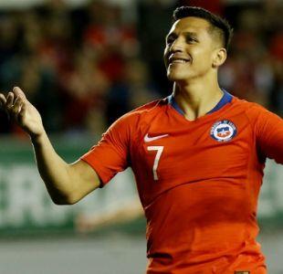 [VIDEO] Manchester United destaca el gol 41 de Alexis Sánchez por La Roja