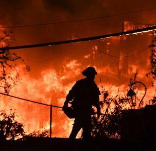 [FOTO] La cicatriz en el terreno que dejó el incendio en California se puede ver desde el espacio