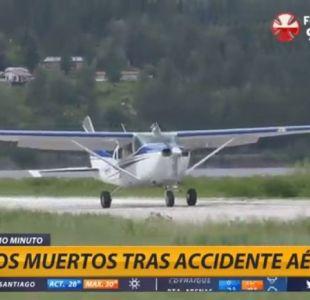 Fallecen dos ocupantes de avioneta tras despegar de Tobalaba