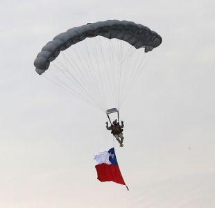 Paracaidista del Ejército muere durante entrenamiento en Copiapó