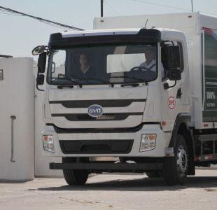 [VIDEO] Debuta en Chile el primer camión eléctrico de alto tonelaje