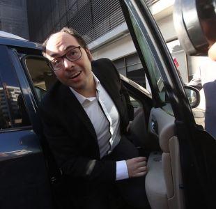 Nicolás López declara en Fiscalía Oriente