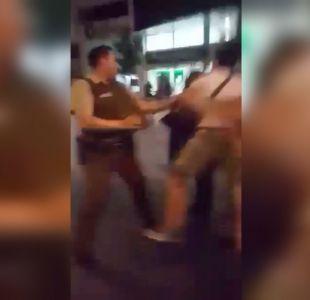 [VIDEO] Providencia: Denuncian exceso de violencia de guardias