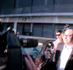[VIDEO] Nicolás López declara en Fiscalía