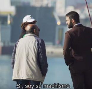 [VIDEO] Hola, soy tu machismo: La campaña que interpela a los hombres en plena calle