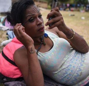 Caravana de migrantes en Tijuana: Salí de Honduras porque mataron a mi pareja por homofobia