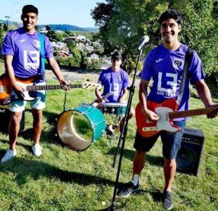 Del escenario a la cancha: Por qué Los Tres aparecerán en la camiseta de Deportes Concepción