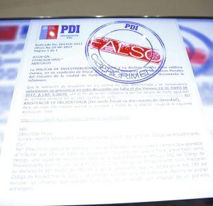 [VIDEO] PDI alerta de correo electrónico que avisa de falsas multas de tránsito para cometer estafas