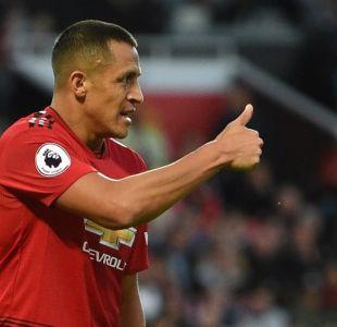 Alexis Sánchez destacó en deslucido empate del Manchester United