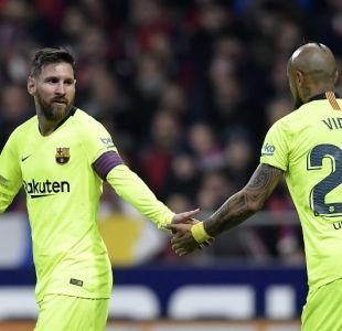 Lionel Messi/Arturo Vidal