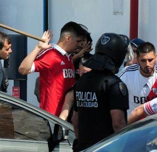 """[VIDEO] """"¡Llamá al médico!"""": El desesperado grito al interior del bus de Boca Juniors"""