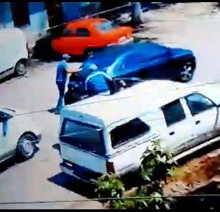 [VIDEO] Mujer salvó tras impactante atropello