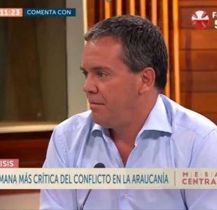"""[VIDEO] Felipe Harboe y La Araucanía: """"Si no logramos un acuerdo vamos a seguir matándonos"""""""
