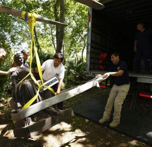 PDI recupera estatuas robadas del Cementerio General desde 2003