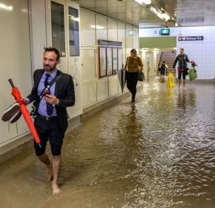 [VIDEO] Sídney recibe en dos horas la lluvia de un mes y las imágenes son impresionantes