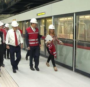 [VIDEO] Línea 3 del Metro estará lista antes del 15 de enero