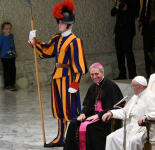 El niño argentino que interrumpió audiencia del Papa Francisco