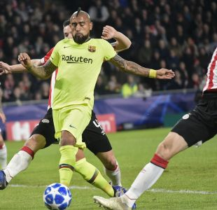 [VIDEO] Los casi golazos de Arturo Vidal en la Champions League