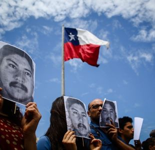 Peritaje de la PDI descarta presencia de pólvora en ropa y manos de Camilo Catrillanca