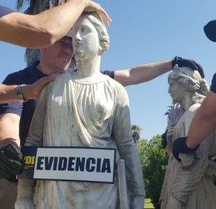 [VIDEO] Caso Esculturas: Investigan presunta red de robo de antigüedades